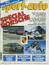 SPORT AUTO n°260 SEPTEMBRE 1983 avec encart&poster GP ALLEMAGNE SPECIAL PORSCHE