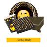 Smiley Welt Geburtstagsparty Range - Geschirr Vorräte Dekorationen {amscan}
