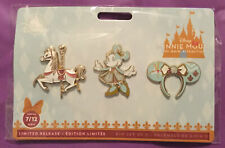 Minnie Mouse The Main Attraction King Arthur's Carousel Three Pin Set NEW