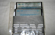 "IBM Dos 3.30 Operating System & Start Up 5.25"" Floppy Disks"