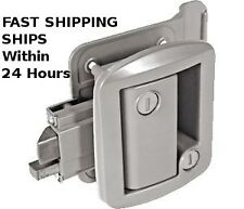 Global RV Entrance Entry Door Lock replaces Trimark Fastec FIC 43610 Silver