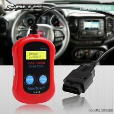 Red OBD2 MaxiScan MS300 Code Reader Check Engine Light Reset Tool CAN OBDII
