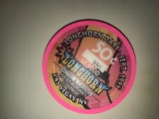Longhorn Days Casino 50¢ Commemorative Serial # Chip Las Vegas September 1995