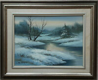 """Original Oil on Canvas Painting by Sontoro, Framed and Signed, 22""""x18"""","""
