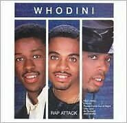 WHODINI : RAP ATTACK (CD) sealed