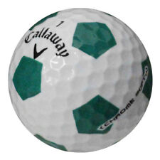 12 Callaway Chrome Soft Truvis Green AAA/Good Quality Recycled Golf Balls *RARE*