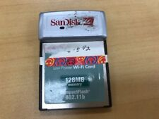 SanDisk Low Power Wi-Fi CompactFlash CF Card 802.11b with 128MB memory