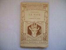 BIBLIOTECA DEI CLASSICI LATINI CORNELIO NEPOTE LE VITE ZANICHELLI 1924  ( a10)