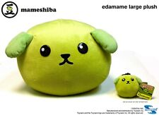 "GREEN Edamame Mameshiba Plush Stuffed Animal Large 12"" long - NEW w/ Tag"