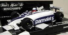 Minichamps 1/43 Scale 400 810105 Brabham Ford BT49C Winkelhock Test Paul Ricard