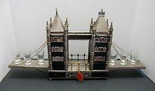 London Bridge Music Box Liquor Display Royal London Collection