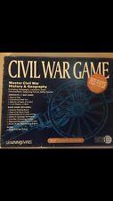 Master Civil War History & Geography Game Teachers Educational Ema 1994