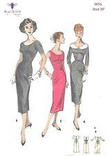 From UK Sewing Pattern Dress Full Skirt 1950/'s 14-20  us #5603