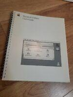 Apple Macintosh Utilities User Guide 1988 computer book manual vintage