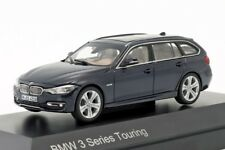 BMW 3 Series Touring Blue, official dealer model scale 1:43, new car mens gift