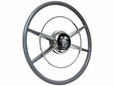 The Crestliner Steering Wheel Silver Mercury Kit | GM Adapter