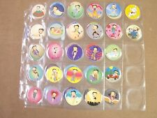 POGS/MILKCAPS  BETTY BOOP 1995 BY KING FEATURES SET OF  (50)  AWESOME