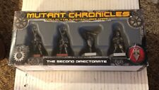 Mutant Chronicles Collectible Miniatures Game The Second Directorate New ST174