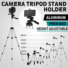 Professional Camera Tripod Stand Phone Holder For Smartphone Samsung Iphone