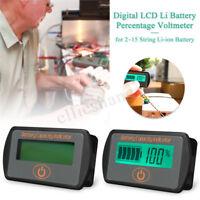 7.4V-56V Li-ion Battery Capacity Tester Voltage Indicator LCD Display