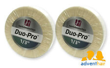"""WALKER Duo-Pro Hair Extensions Tape Roll 1/3"""" x 6 yards wig hairpiece - 2 rolls"""