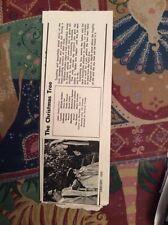 m12n ephemera 1970 film picture article the christmas tree holden lisi bourvil