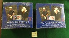1992  PGA  Tour Pro  Set 36 Pack Boxes Sealed/unopened Lot Of 2. Free Shipping!