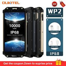 Oukitel WP2 IP68 Triproof 10000mAh 4+64GB Handy 6.0inch MTK6750T Octa-Core NFC