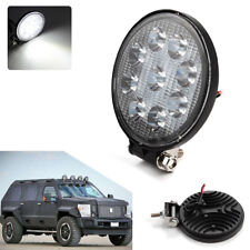 4.5Inch 48W Round LED Work Light Fog Driving Lamp Offroad SUV Spotlight Bar Boat