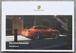 PORSCHE PANAMERA 2020 Original PROSPEKT BROCHURE PROSPECTUS Hardcover