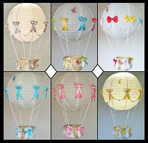 HOT AIR BALLOON Lamp-light Shade for Baby Nursery