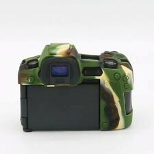 Silicone Soft Body Bag Rubber Cover Case Skin Camera For Canon EOS R Camouflage