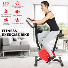 LED Bicycle Fitness Cardio Exercise Bike Home Gym Trainer Stationary Fat Burning
