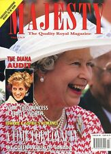 QUEEN ELIZABETH UK Majesty Magazine Vol 15 No 10 October 1994 10/94 DIANA C-2-3
