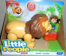 NEW  FISHER  PRICE  LITTLE  PEOPLE  BIG  ZOO  LION ROARS