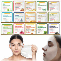 10pcs Korean Facial Skin Care Mask Sheet Moisture Essence Face Pack