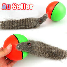 Pet Toy Rolling Ball Weasel Dog/Cat Moving Appears 8x21cm Funny Motorized New!