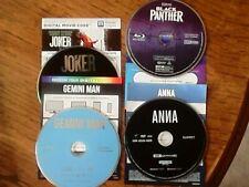 Various Blu-Rays With Digital Code
