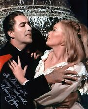 Veronica Carlson signed Dracula Has Risen photo / autograph inscribed to David