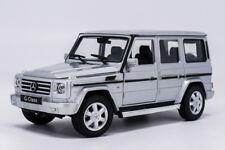Welly 24012 MERCEDES BENZ G-class Silver Model Car #