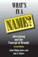 What's in a Name?: Advertising and the Concept of Brands-ExLibrary