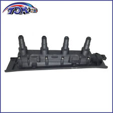 BRAND NEW  IGNITION COIL CASSETTE PACK BLACK FOR SAAB 9-3 9-5 TURBO 4 CYL