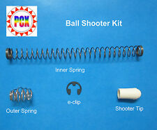 Bally Bingo Machine Ball Shooter Repair Kit - Includes Both Plunger Springs