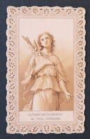 CANIVET Pureté Image Pieuse HOLY CARD 19thC Santino 7