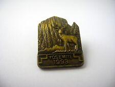 Vintage Collectible Pin: Yosemite 1993 Elk Deer Design