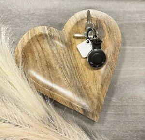 Natural Wooden Heart