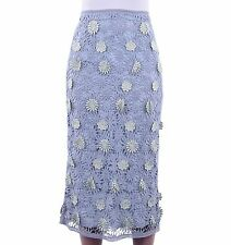 Below Knee Regular Dry-clean Only Floral Skirts for Women