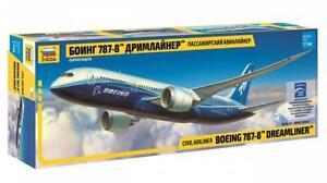 Zvezda 7008 1/144 Boeing 787-8 Dreamliner Plastic Model Kit