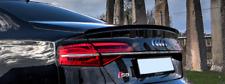 A S 8 D 4 rear Trunk Spoiler Lip tail duck bill duckbill Wing Door lid tailgate