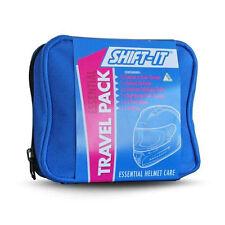 Shift-It Motorcycle Motorbike Helmet Cleaning Travel Pack Essential Helmet Care